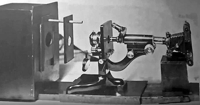 Watson Kima equipped for photomicrography