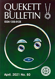 Front cover of April 2021 Bulletin