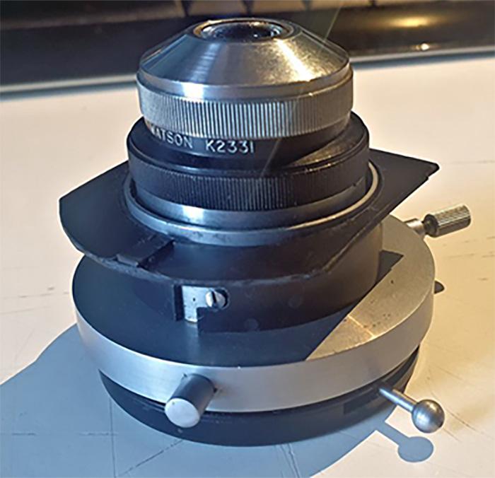 Condenser in Dialux condenser adapter