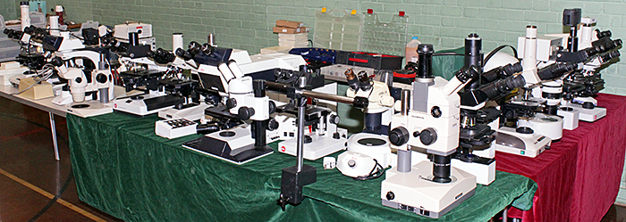 John Millham's microscopes