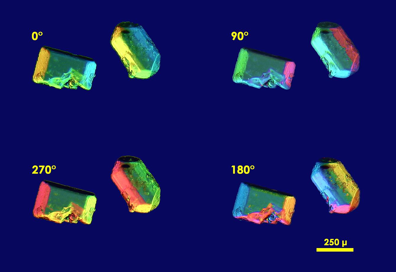 Sucrose crystals