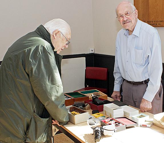 John Charlton and Les Franchi