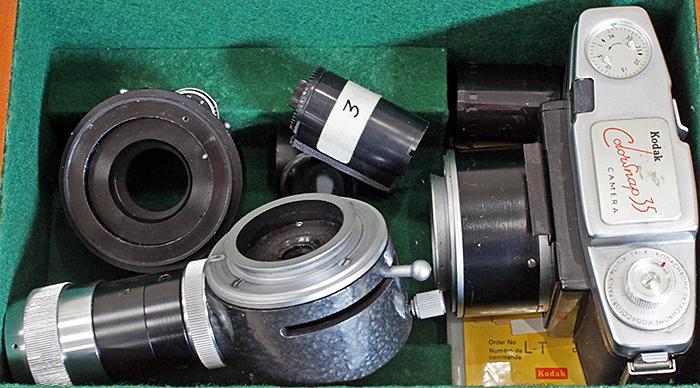 Kodak Colorsnap 35 microscope camera