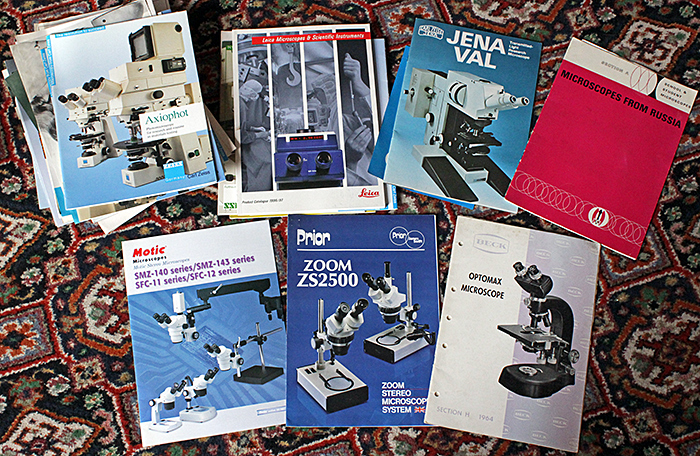 Microscope brochures