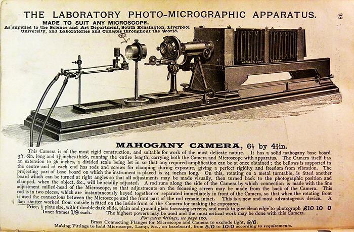 Laboratory Photo-Micrographic Apparatus